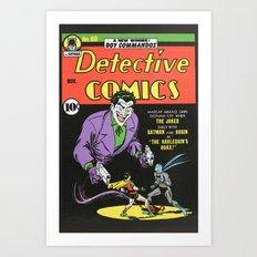 Comic Detective 69 Art Print