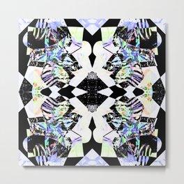 Graphic Zebra  Metal Print