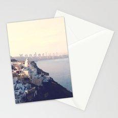 Wanderlust (Santorini) Stationery Cards