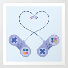 Be My Player 2 Art Print