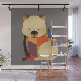 Wombat Wall Mural