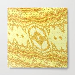 Fractal Tapestry Metal Print