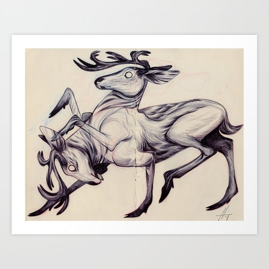 The Fury Art Print