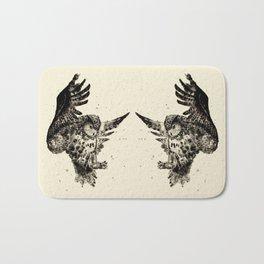 Owl Ink Bath Mat