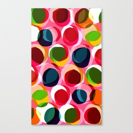 Circles - Sarah Bagshaw Canvas Print