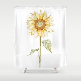 Sunflower 01 Shower Curtain