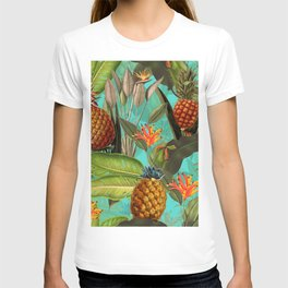 Vintage & Shabby Chic - Pineapple Tropical Garden T-shirt