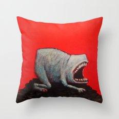 Empty Shell Throw Pillow