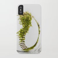 dragon ball iPhone & iPod Cases featuring Dragon Moss ball baseball by Surface Maximus