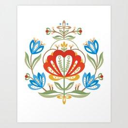 Nordic Jelsa Art Print