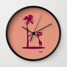 WTF? Jirafa bis! Wall Clock