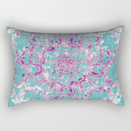 Reinventing A Taste of Lilac Wine Rectangular Pillow