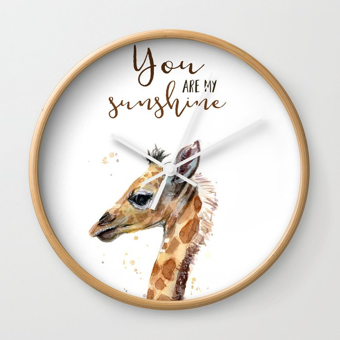 My Sunshine Giraffe Nursery Animals