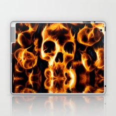 Skulls of Fire Laptop & iPad Skin