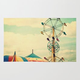 Get your ticket to ride. Rug