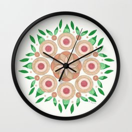 The Joy of Growth Wall Clock