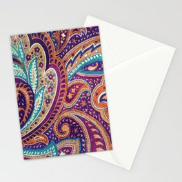Summer paisley Stationery Cards