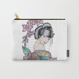 Geisha Flower Girl Carry-All Pouch