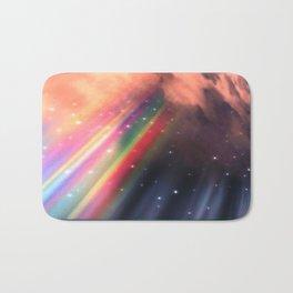 Under The Rainbow Sky Bath Mat