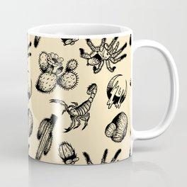 Nocturnal Desert Pattern Coffee Mug