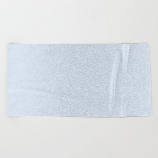 Simply Sky Blue Beach Towel