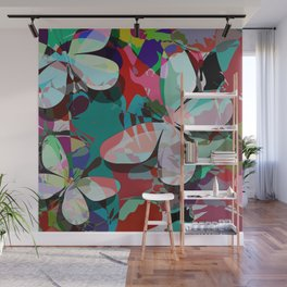 Butterflies abstract Wall Mural