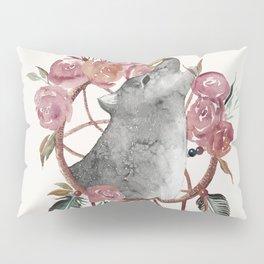 Wolf Dream Catcher Pillow Sham
