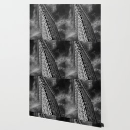 Flat Iron Monochrome Wallpaper