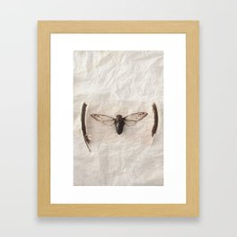 P.S. Framed Art Print
