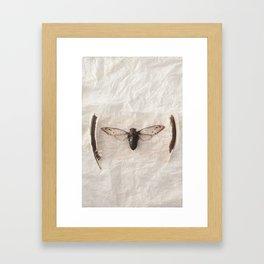 P.S. Framed Art Print