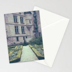 French Garden Maze II Stationery Cards