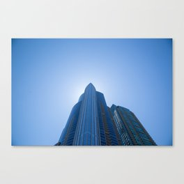 High Rise above Chicago Canvas Print
