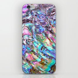 Shimmery Rainbow Abalone Mother of Pearl iPhone Skin