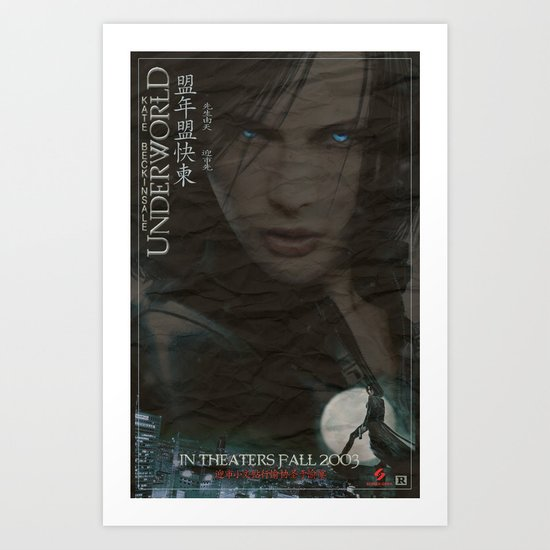 Underworld Art Print