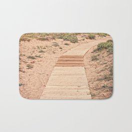 A Beautiful Spring Day at the Beach Bath Mat