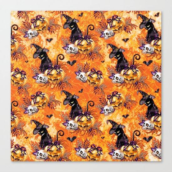 Halloween Witch #5 Canvas Print