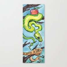 Eat Your Apples Canvas Print