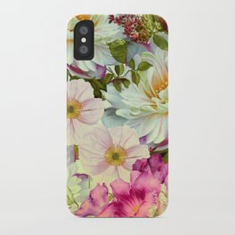 full of flowers iPhone Case