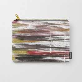 Raisin black abstract watercolor Carry-All Pouch