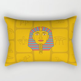 Egyptian Prince Rectangular Pillow