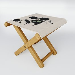 Michigan - State Papercut Print Folding Stool