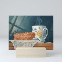 Breakfast of Champions (donut and coffee) Mini Art Print