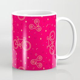 Bike and Chain Coffee Mug