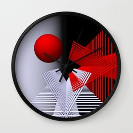 experiments on geometry -6- Wall Clock