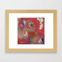 Too Pink For Comfort Framed Art Print