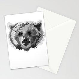 BEAR CUBISM Stationery Cards