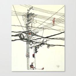 Shanghai spirit Canvas Print