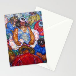 Lei Queen Fantasia by Cornelia MacIntyre Foley Stationery Cards