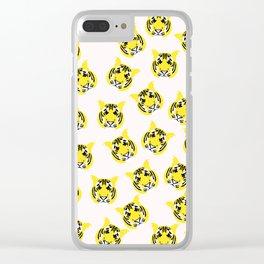 Cute Tiger Clear iPhone Case