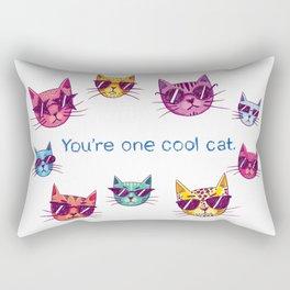 You're One Cool Cat Rectangular Pillow